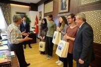 EŞIT AĞıRLıK - YKS Şampiyonundan Başkan Çetin'e Ziyaret