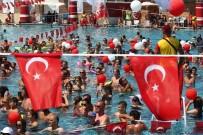 REKOR DENEMESİ - 3 Bin Tatilciden 30 Ağustos'ta Rekor Denemesi
