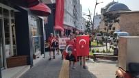 30 Ağustos Zafer Bayramı İçin 41 Km Yürüdüler