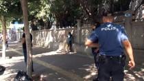 KADIN POLİS - Yüzü kapalı kadın paniği!