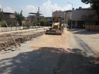 Ahmetli'nin Prestij Caddelerinde Altyapı Çalışmaları Tamamlandı
