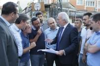 GÖLGELI - Başkan Saraçoğlu, Alt Yapı Çalışmalarını Yerinde İnceledi