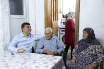 HASAN ÖZTÜRK - Belediye Başkanı Fadıloğlu, Kömek İle Öztürk Ailelerin Konuğu Oldu