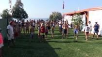 SÜRAT TEKNESİ - Bodrum'dan Çelebi Adası'na Yüzdüler