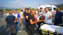 Bursa'da Feci Kaza Güvenlik Kamerasına Yansıdı
