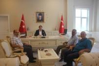 SPOR KOMPLEKSİ - Darendespor'dan Kaymakam Zengince'ye Ziyaret