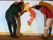 İdealist Öğretmen Okula Rengarenk Bir Görünüm Kazandırdı