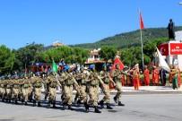 FOLKLOR GÖSTERİSİ - Muğla'da Büyük Zafer'in 96'Ncı Yılı Kutlaması