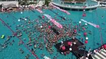 REKOR DENEMESİ - Otel Havuzunda Rekor Denemesi