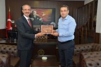 Rektör Karakaya Cumhuriyet Başsavcısı Bilal Gümüş'ü Ziyaret Etti