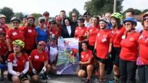 ESENGÜL CIVELEK - 'Türk Kadınının Zaferi Bisiklet Turu Projesi'
