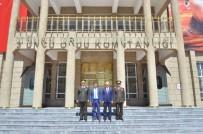 ERZİNCAN VALİSİ - 3. Ordu Kurmay Başkanı Ve Garnizon Komutanlığı Görevine Atanan Tuğgeneral Ali Ekiyor Göreve Başladı