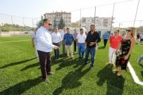 JİMNASTİK SALONU - Amatör Futbolun Merkezi Ekim'de Açılıyor
