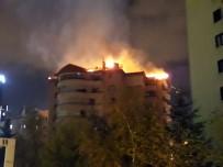 ÇUKURAMBAR - Başkent'te Korkutan Yangın