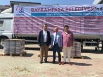 SEMİH ERDEN - Bayrampaşa Belediyesinden İlçedeki Okullara Tonlarca Boya Yardımı
