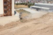 OKUL BAHÇESİ - Beyşehir Belediyesi'nden Peyzaj Projesi