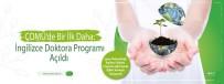 ÇOMÜ'de İngilizce Doktora Programı Açıldı