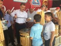 CENGIZ YıLMAZ - Dondurma Festivalinde Vatandaşlara 10 Ton Dondurma Dağıtıldı