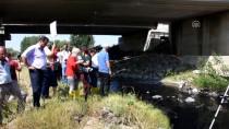 ERGENE NEHRİ - Ergene'deki Kirliliğe Dikkat Çekmek İçin Nehre Olta Attı