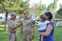 ERZİNCAN VALİSİ - Erzincan İl Jandarma Komutanlığı'nda Rütbe Töreni