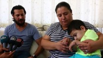 İBRAHIM ŞAHIN - Fındık Tanesi Yüzünden Felç Olan Çocuğun Ailesi Yardım Bekliyor