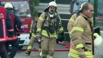 İTFAİYECİLER - GÜNCELLEME - Başakşehir'de Fabrika Yangını