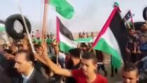 TOPRAK GÜNÜ - GÜNCELLEME - İsrail Askerleri Gazze Sınırında 52 Filistinliyi Yaraladı