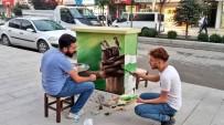 Hakkari Belediyesi Elektrik Trafolarını Sanatla Süslüyor