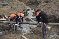 ŞEBEKE HATTI - Hakkari'de Eski Su Şebekleri İptal Ediliyor