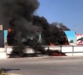 ŞEHİRLERARASI OTOBÜS - İzmir Otogarında Korkutan Yangın