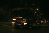 Kilis'ten İdlib Sınırına Komando Ve Topçu Bataryaları Sevk Edildi