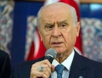 MHP Genel Başkanı Devlet Bahçeli'den açıklamalar