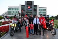 KONYAALTI BELEDİYESİ - Motosikletçiler, Zafer Bayramı İçin Toplandı