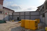 Naim Süleymanoğlu Spor Salonu İnşaatı Devam Ediyor