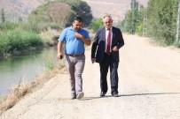 YOL YAPIMI - Yahyalı'da Çiftçiler Asfalt Yola Kavuşuyor