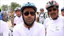 KADIN SPORCU - '1. Ulusal Van Denizini Pedallıyoruz' Bisiklet Etkinliği Başladı
