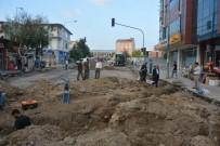 Başkan Köksoy, Sıcak Asfalt Yol Yapım Öncesi Alt Yapı Çalışmalarını İnceledi