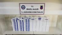 Bingöl'de 5 Bin Paket Kaçak Sigara Ele Geçirildi