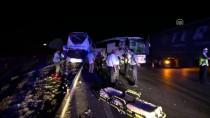 Çorum'da İki Otobüs Çarpıştı Açıklaması 13 Yaralı