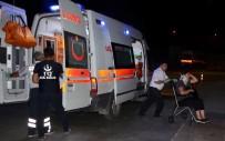 Çorum'da İki Yolcu Otobüsü Çarpıştı Açıklaması 13 Yaralı