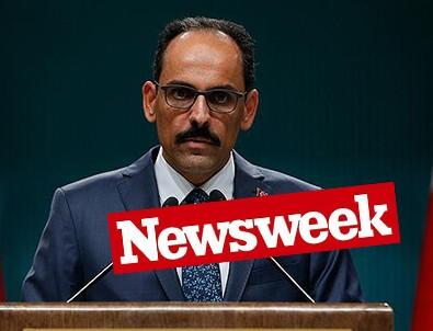 İbrahim Kalın'dan Newsweek'e Tepki