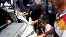 Düzce'de Trafik Kazası Açıklaması 1 Yaralı