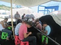 Erdekli Balıkçılar Av Sezonuna Hazırlanıyor