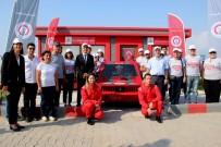 TEST SÜRÜŞÜ - İSTE'nin Elektrikli Otomobili 'Elektro-Mob-İSTE' Yarışa Hazır