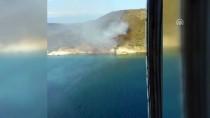 MAKİLİK ALAN - Maden Adası'nda Yangın