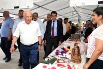 İSMAİL TEPEBAĞLI - Mersin Çamlıyayla'da 4. İğne Oyası Festivali
