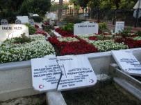 ELEKTRİK HATTI - (Özel) Mezar Taşı Yaptırmaktan Bıktı, Savcılığa Suç Duyurusunda Bulundu