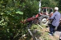 SÜLEYMANIYE - Sakarya'da Traktör Kazası Açıklaması 1 Yaralı