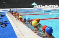 KALABA - Sıcak Bastırdı, Havuzlar Doldu Taştı