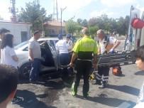 Afyonkarahisar'da Kaza Açıklaması 3 Yaralı